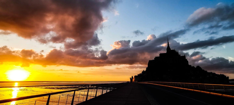 Cap vers la Manche, entre terre et mer…